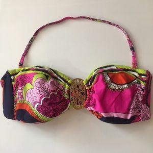 Trina Turk Other - Trina Turk Bandeau Bikini Bra Top New Size 6 Med