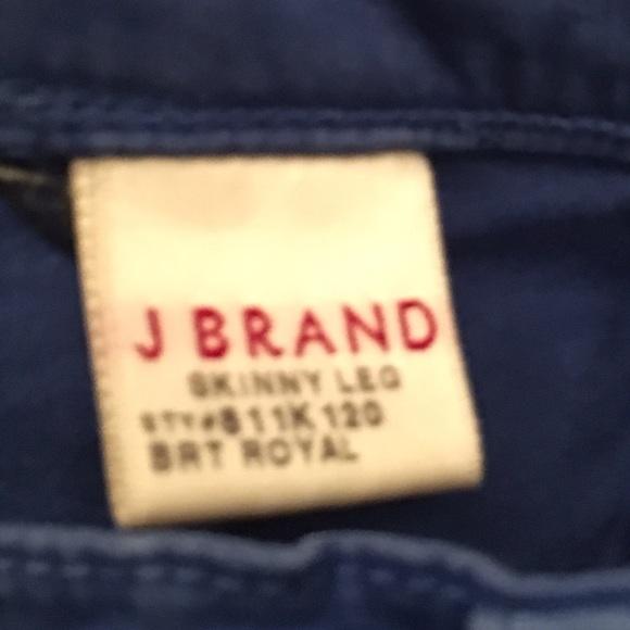 32 off j brand denim sale j brand royal blue skinny jeans from adriana 39 s closet on poshmark. Black Bedroom Furniture Sets. Home Design Ideas