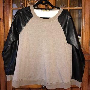 Whitney Eve Tops - Whitney eve oversized sweatshirt size xs
