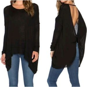 Free People Tops - Free People Shadow Hacci Pullover