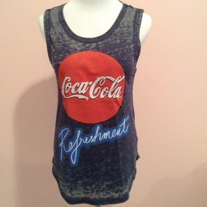 Chaser Tops - Chaser Coca Cola Refreshment Tank Sz XS