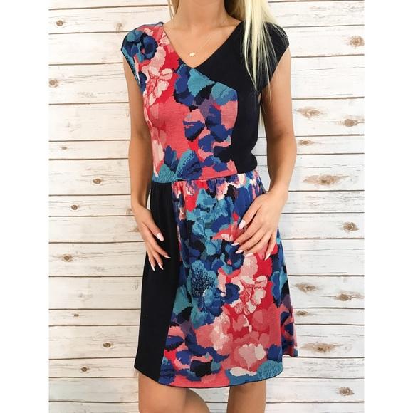f3b021704ee637 Anthropologie Dresses   Skirts - !firm!! Anthro leifsdottir knit floral  print dress
