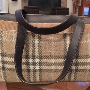 d66d3199136 Burberry Bags   Firm Priceauth London Corduroy Leather   Poshmark