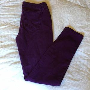 refuge Denim - Refuge Purple Skinny Jeggings