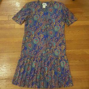 Leslie Fay Dresses & Skirts - Vintage Leslie Fay paisley dress