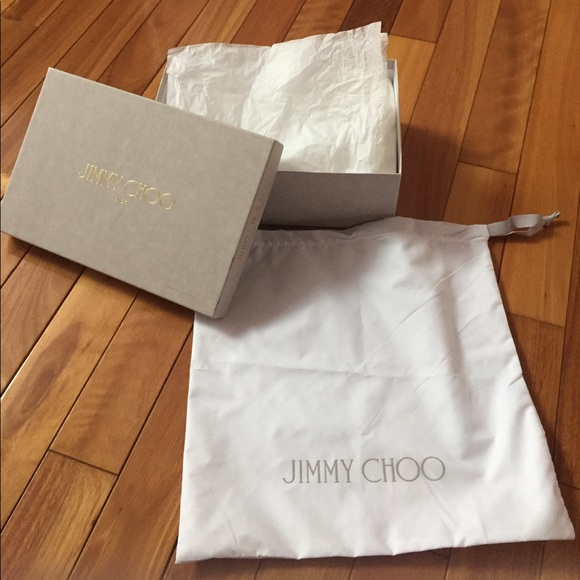 13550f7df4b Jimmy Choo Other - Jimmy Choo shoe box and dust bag