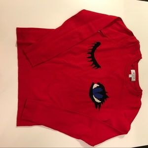 Milly Minis Other - Milly Minis size 8 red wink sweater