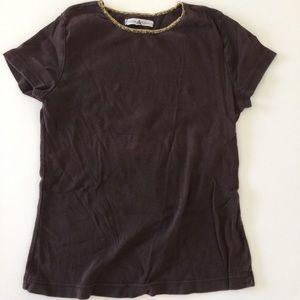 Allen Allen Tops - S/S cotton top