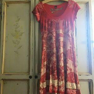Desigual Dresses & Skirts - Desigual dress size medium red