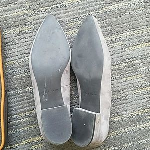 Cole Haan Shoes - Gray suede Cole Haan Arlyss Skimmer Grand Os