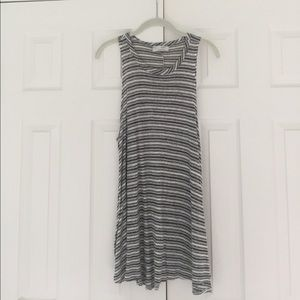 Audrey 3+1 Striped Swing Dress