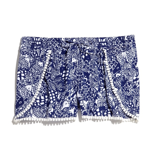 Lilly Pulitzer for Target Challis Pompom Shorts