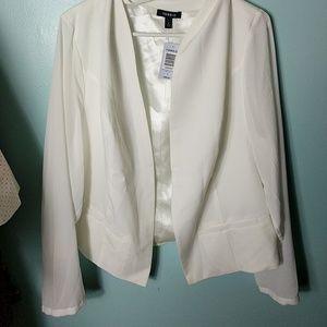 torrid Jackets & Blazers - Torrid Blazer size 3 NWT sheer sleeves