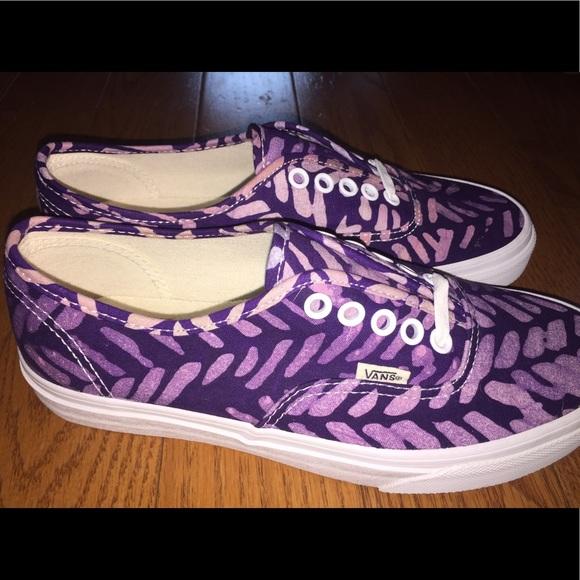 Vans Shoes | Purple Metallic | Poshmark