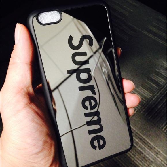 Supreme Mirror Iphone Case