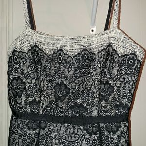 XS The Limited Black Lace Top
