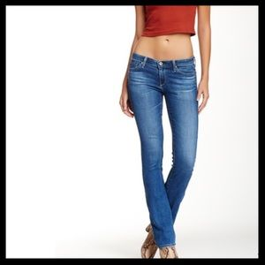 AG 'The Ballad' Slim Boot Jeans