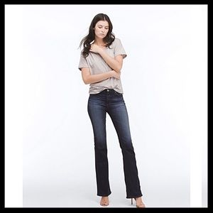 AG Mid Rise Boot Cut Jeans