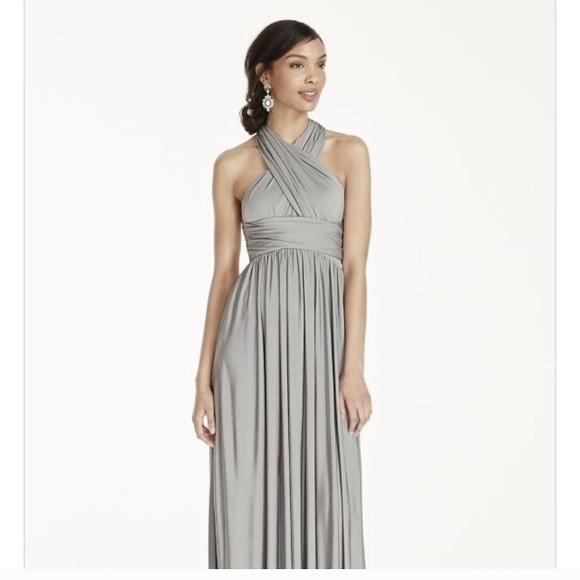 61 off david 39 s bridal dresses skirts david 39 s bridal for Jersey knit wedding dress
