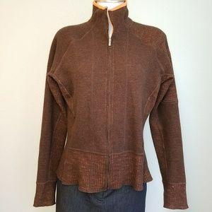 Mountain Hard Wear Sweaters - Mountain Hardwear Sarafin Full Zip Wool Sweater