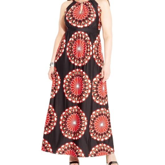 67bfa3feae3 inc international concepts plus size maxi dress