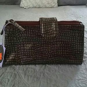 NWT Steph & Co. Makeup Bag
