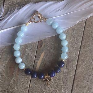 Handmade Jewelry - Gemstone Bracelet for Stress Relief
