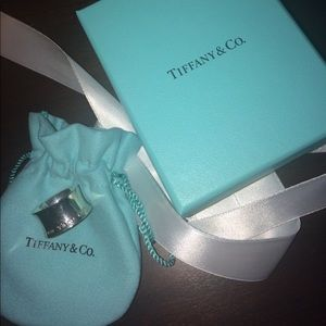 Tiffany & Co. Jewelry - AUTHENTIC Tiffany & Co wide Band 1837 ring!