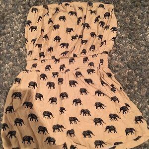 Forever 21 Elephant romper