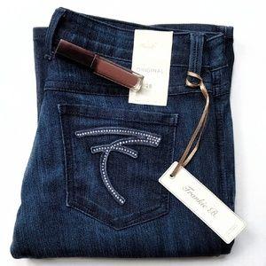 Frankie B. Denim - 🦋 {Frankie B.} crystal pocket flared jeans