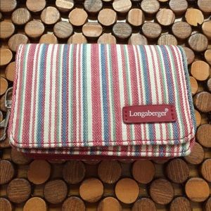 longaberger  Accessories - Longaberger Wallet - Homestead - NWOT