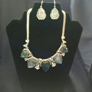 Chloe + Isabel Jewelry - Northern Lights Necklace + Earrings