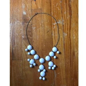 Statement bubble necklace
