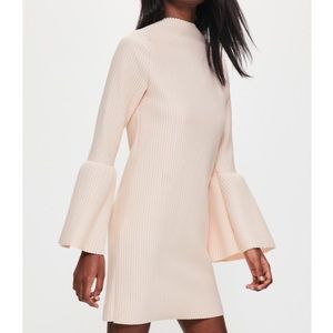 Missguided Dresses & Skirts - New nude flare sleeve dress