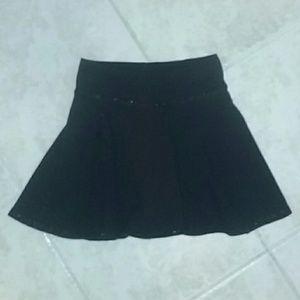 Justice Other - Girl's black skirt, skort