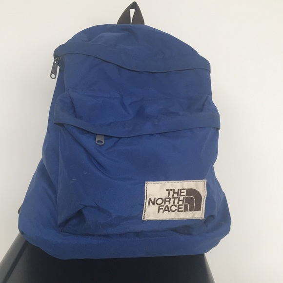 e05fed465 Vintage 70's north face tear drop day pack brown