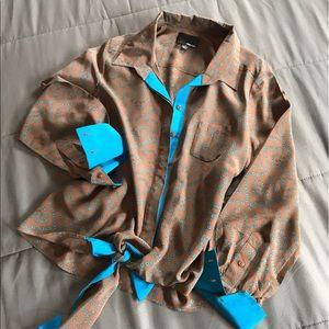 Greylin Tops - Greylin Silk Blouse!!
