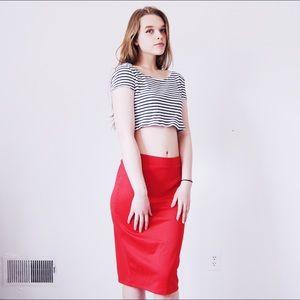 Doublju Dresses & Skirts - ❤️Stretch Knit Midi Pencil Skirt w/ Back Slit❤️