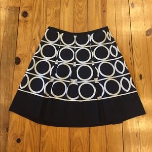 Ann Taylor Dresses & Skirts - Ann Taylor Circle Print Skirt