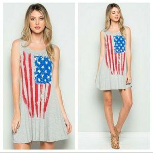 October Love Dresses & Skirts - ❣Heather Grey Swing dress❣