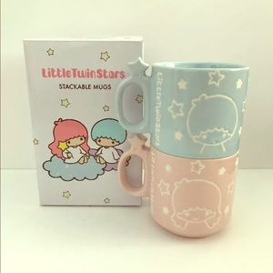 Sanrio Other - Sanrio Loot Crate Little Twin Stars Stackable Mugs