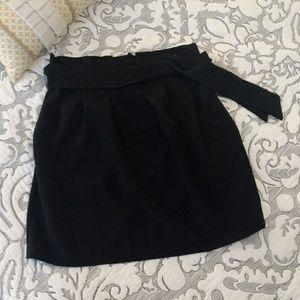 dots Dresses & Skirts - dots EUC A-line skirt with belt