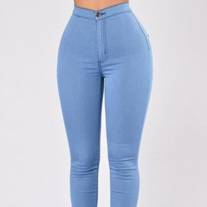 Aphrodite Denim - High-waisted flexible skinny jeans