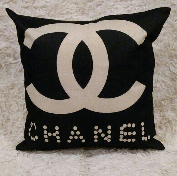 Black Chanel Throw Pillow : 66% off CHANEL Other - New Set of 2 Matching CHANEL Throw Pillows from Tinsa s closet s closet ...