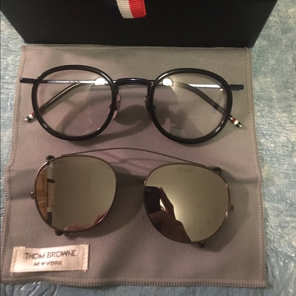 73a0b91b0c11 Sale today!!! Thom browne Iconic Black Glasses