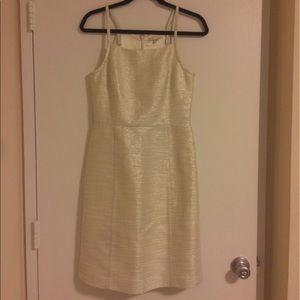 Paper Crown Dresses & Skirts - Anthropologie Paper Crown Gold Shimmer Dress