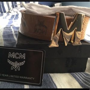MCM Other - Brown Mcm Belt