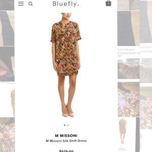 M by Missoni Dresses & Skirts - M MISSONI M Missoni Silk Shift Dress