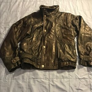 Bloomingdale's Other - MEN BLOOMINGDALES LEATHER JACKET SZ. 40 MSRP $795
