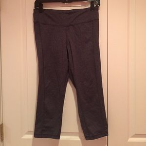 Old Navy Pants - Gray workout crops
